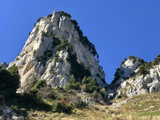 Le couloir du Pas de Montbrun