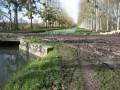 La borne mystère du méridien de Paris à Pont Vert
