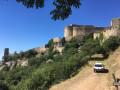Arrivée à la forteresse