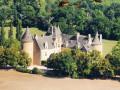 Les trois châteaux à Saint-Céré