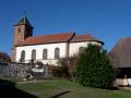 Eglise Saint Sébastien à Angeot