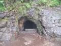 Entrée du premier tunnel