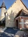 L'Église Saint-Martin au village de La Roquette