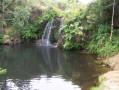 Les deux versants du Bizkarzun et la cascade de l'Uzkaingo Erreka