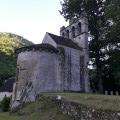La vallée de la Dordogne au pied de Servières-le-Château