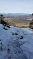 Le Climont par la face Sud depuis le col de Steige