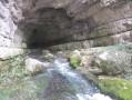 la grotte-résurgence de Chabanne