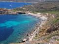 La plage de l'anse de l'Oscellucia