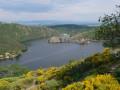 La Bachasse en bordure du lac artificiel de Grangent