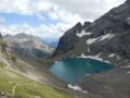 Lac de l'Eychauda par le Pas de l'Âne et le Col des Grangettes