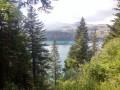 Lac Pavin vue d'en haut
