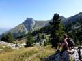 Le Col de Bellefont par le sentier du Colonel