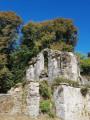 Le Fronton de l'Abbatiale de St Maurice