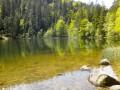 Le Lac de la Maix et le Haut du Bon Dieu