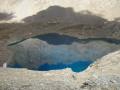 Lac des Neuf Couleurs sous le Brec de chambeyron