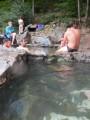 Les 3 bassins sauvages des sources chaudes de Thuès