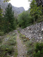 Bocca di Capronale depuis la vallée du Fangu