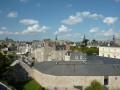 Panorama de Dinan depuis la terrasse du Château