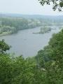 Panoramique sur la Dordogne.