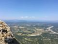 Panoramo du Pic Saint Loup.