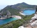 Afionas dans l'île de Corfou