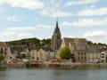 Eau, bois et vues de la basse vallée de l'Yonne entre Champigny et Sens