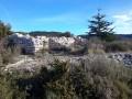 Les crêtes de Fontaine-de-Vaucluse