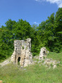 Le monastère Saint-Michel par le hameau de Saint-Sauveur