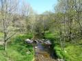 La vallée du Lignon entre Jaujac et La Souche