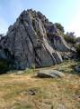 Le Saint-Guiral depuis le Col de l'Homme Mort