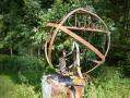 sculpture du 45ème parallèle