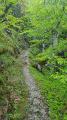 Sentier des Gardes entre Valgorge et Loubaresse