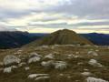 Le Montdenier au départ du col de Saint Jurs