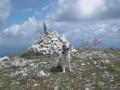 sommet du pic de la Fourneuby