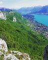 Le Mont Baron et le Mont Veyrier