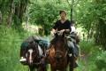 Initiation au cheval de bât entre Chantaigut et Les Vacants