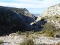 Vue au dessus des gorges de Badarel