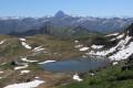 Col, lac et refuge d'Arlet depuis Aubise