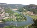 Baume-les-Dames. Doubs, Canal et Croix de Châtard