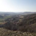 Vue sur la vallée de la Couze