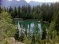 Le Lac Vert à Servoz