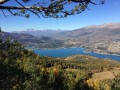Vue sur le Lac de Serre-Ponçon